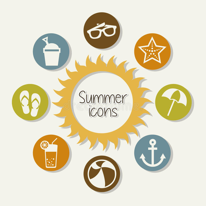 Download 夏天象 向量例证. 插画 包括有 例证, 柠檬水, 椅子, bothy, 乐趣, 火箭筒, 凉鞋, 汁液 - 30333938
