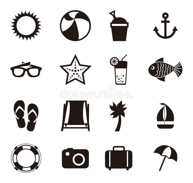 Download 夏天象 向量例证. 插画 包括有 小船, 图象, 投反对票, 例证, 重新创建, 火箭筒, 节假日, 沙子 - 30334045