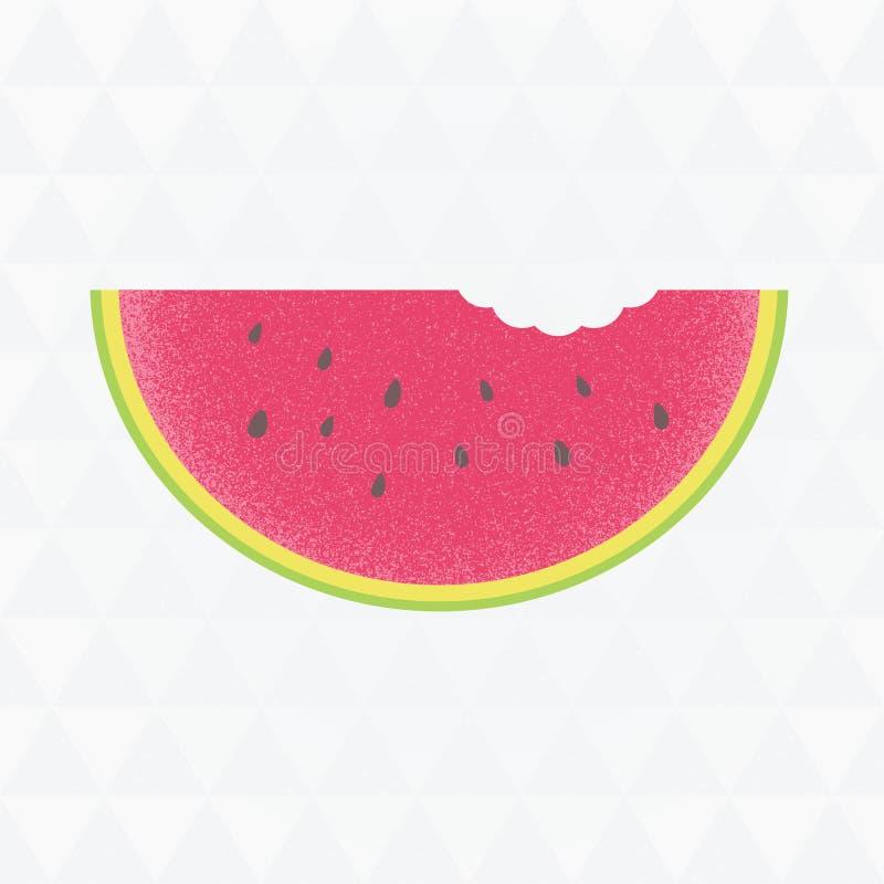 夏天销售汇集 与waterm的传染媒介三角背景 免版税库存图片