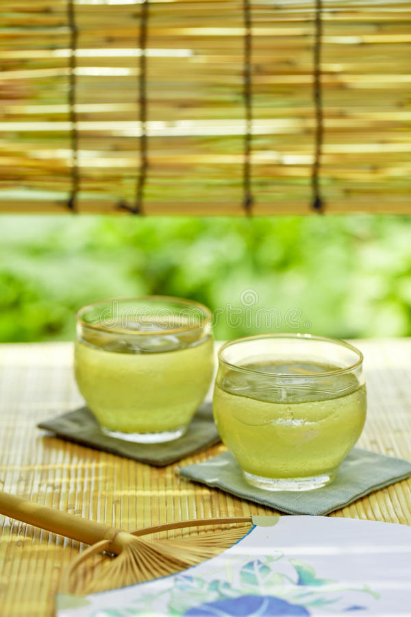 夏天饮料在日本 库存照片