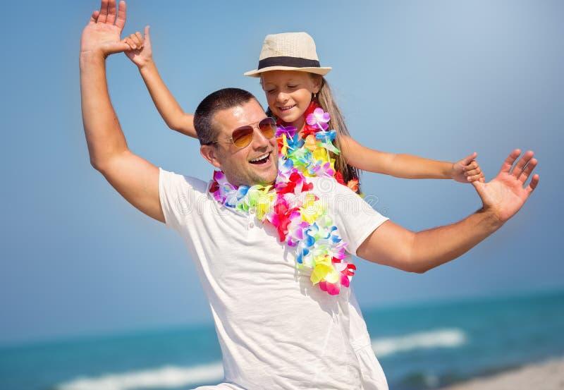 夏天,家庭观念 免版税库存图片