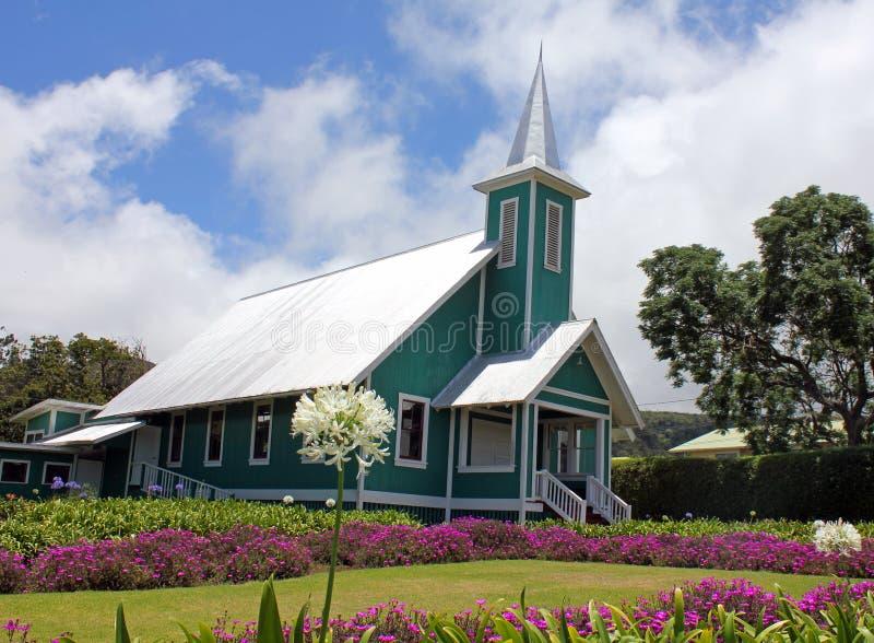 夏威夷教会 库存图片