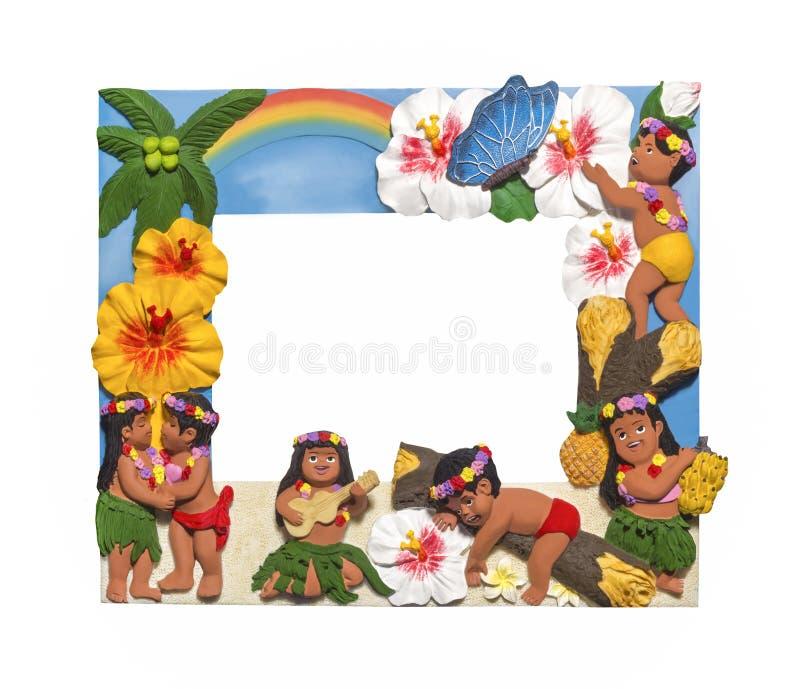 夏威夷样式框架 库存图片