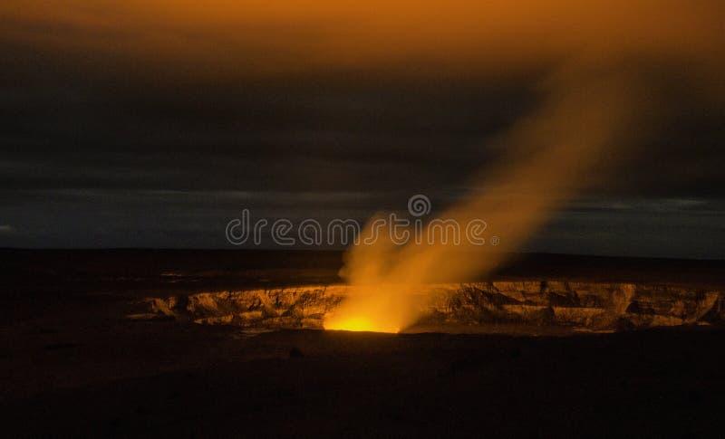 夏威夷火山 免版税库存图片