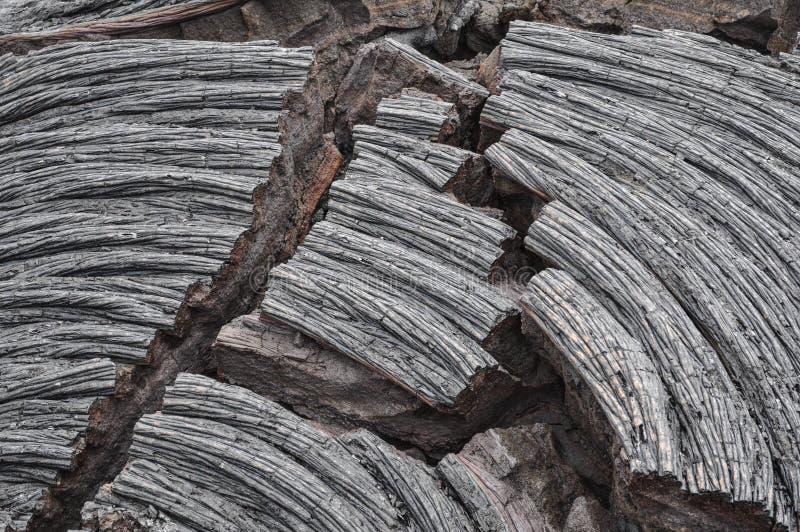 夏威夷熔岩 免版税库存图片