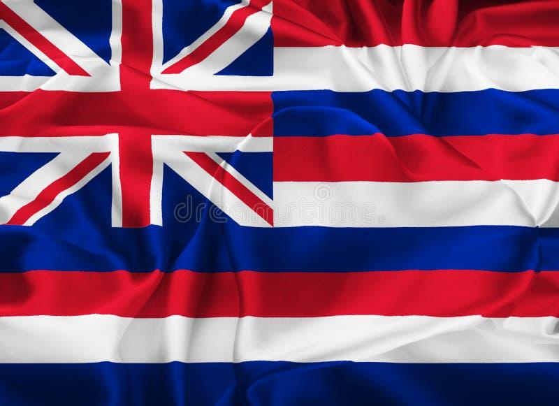 夏威夷的状态标志 库存例证