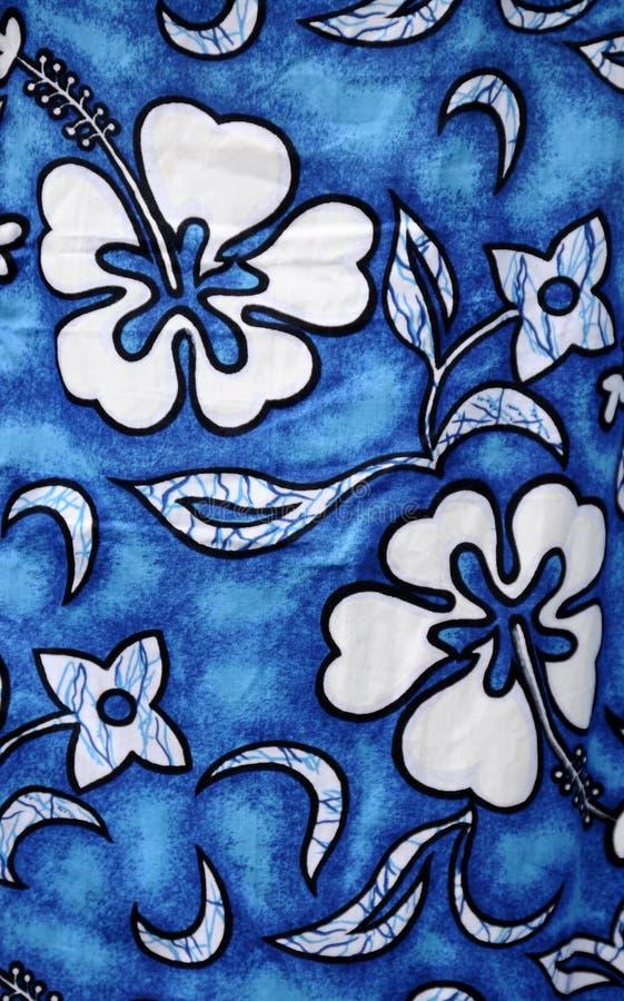 夏威夷纺织品 图库摄影