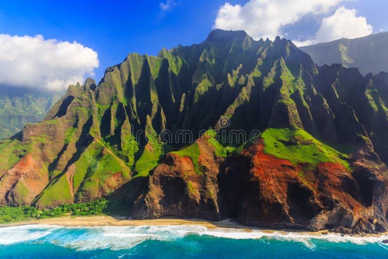 夏威夷考艾岛 免版税库存照片