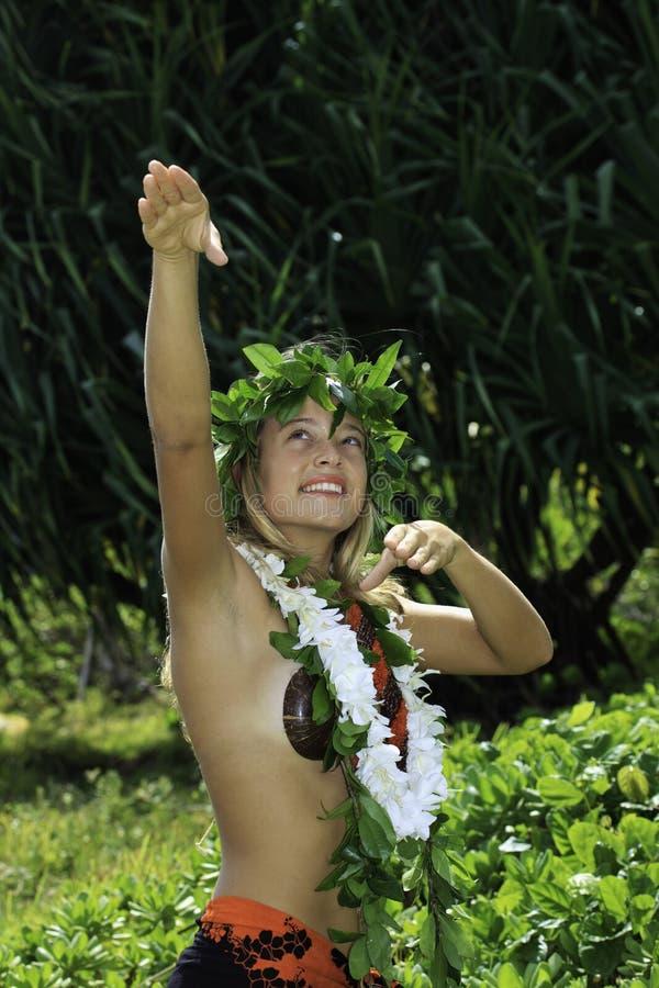 夏威夷hula 库存图片