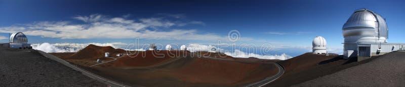 夏威夷kea mauna观测所 库存图片