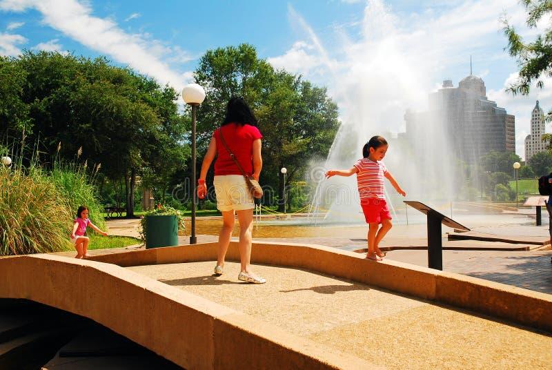 夏日在公园 免版税库存照片