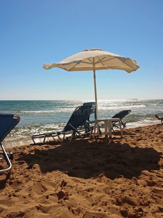 夏日在希腊 免版税库存照片