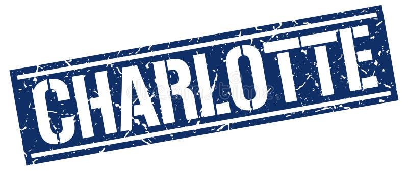 夏洛特邮票 皇族释放例证