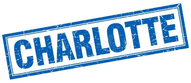 夏洛特邮票 向量例证
