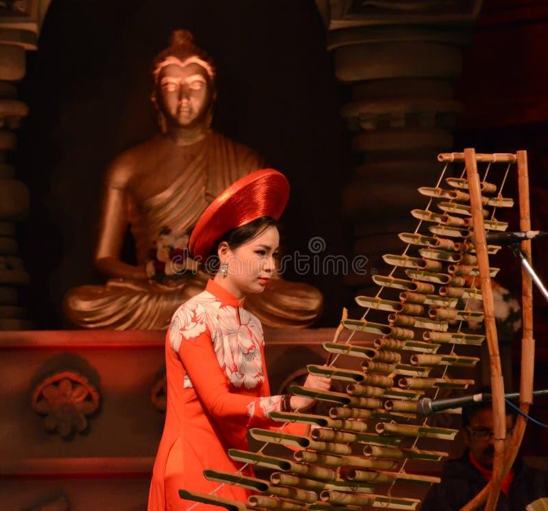 外国人艺术家在Bodhgaya,比哈尔省,印度 库存图片