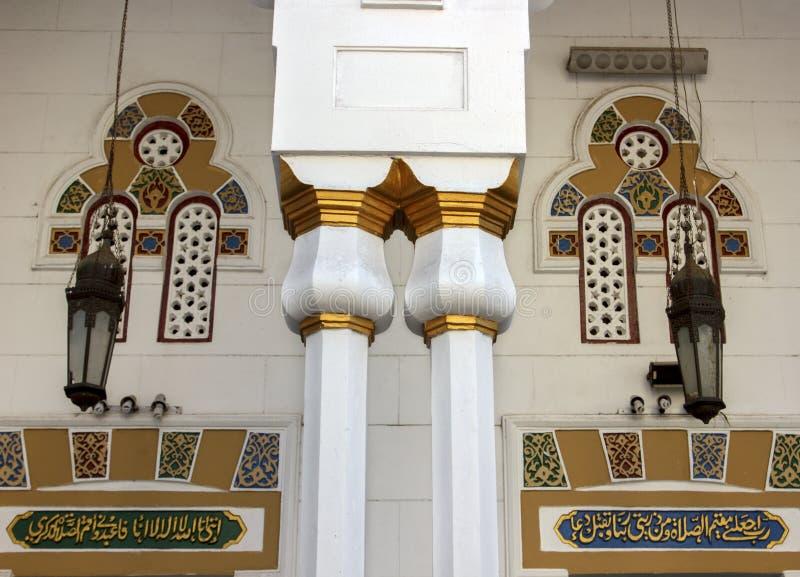 外在清真寺细节  库存照片