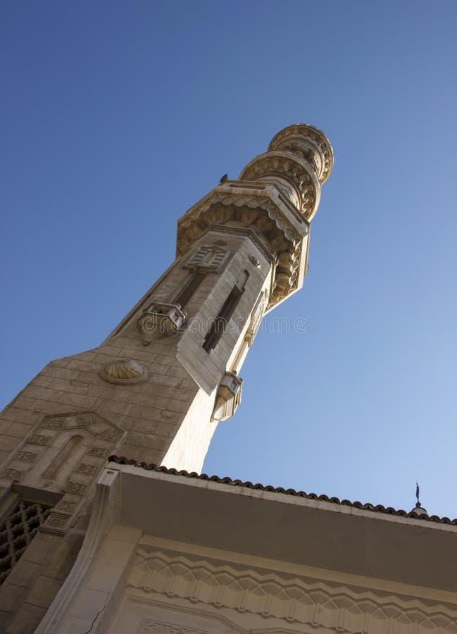 外在清真寺细节  免版税库存照片