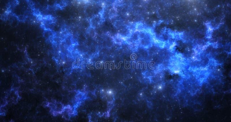 外层空间星云 库存图片