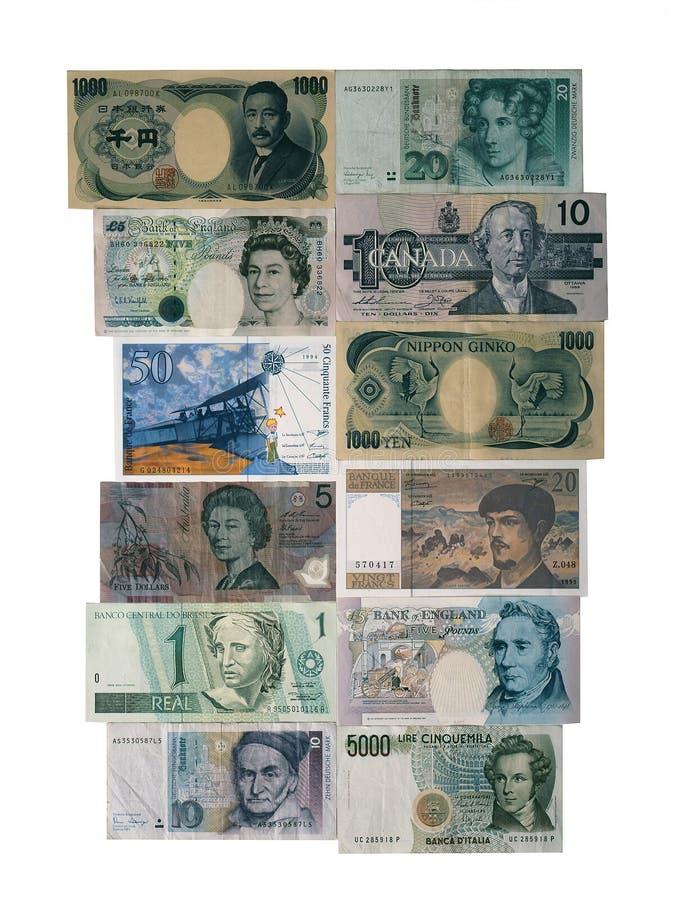 外币 免版税库存图片