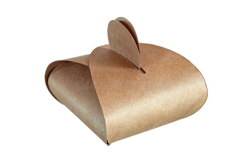 外带的蛋糕盒 免版税库存图片