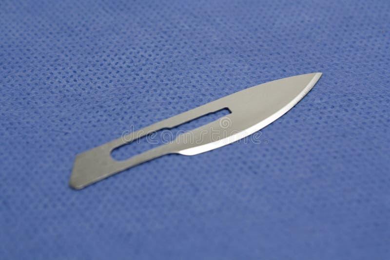 外科的刀片 免版税库存图片