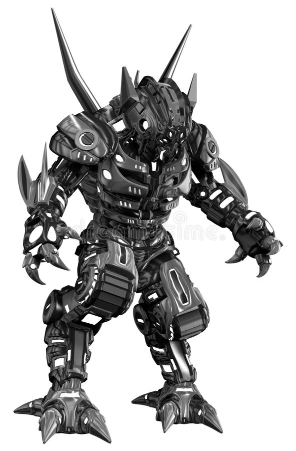 外籍人机器人战士