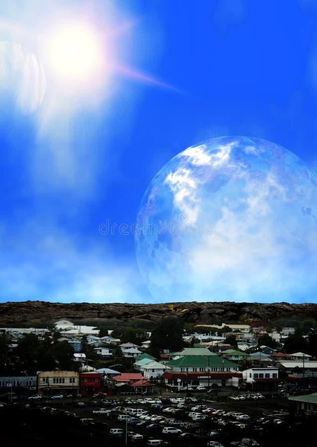 外籍区行星购物 向量例证