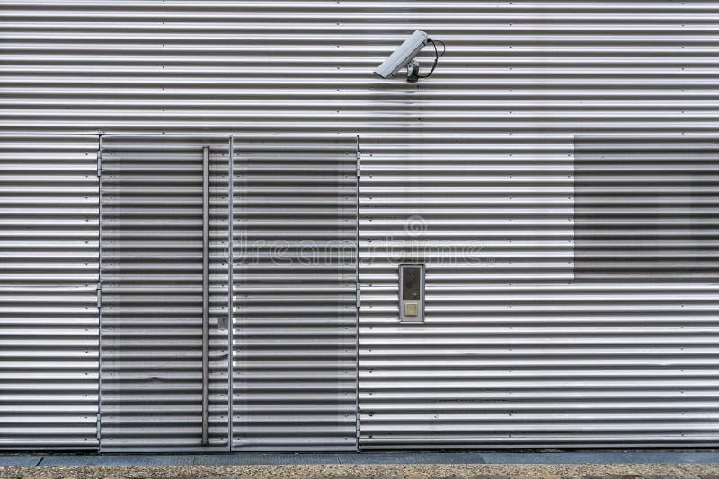 外部录影监视和保安系统 免版税库存照片