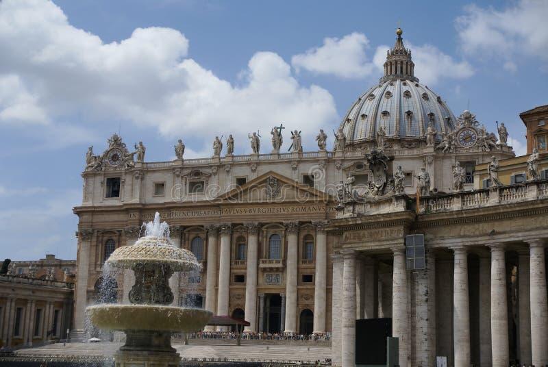 外部梵蒂冈 免版税库存照片