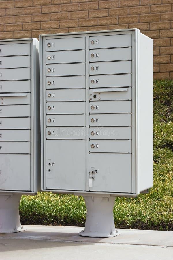 多个的邮箱 免版税库存图片