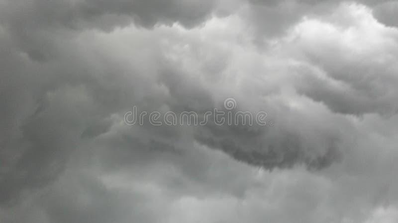 多云天气 库存照片