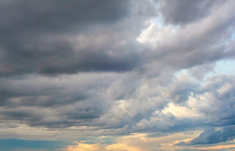 多云天空 图库摄影