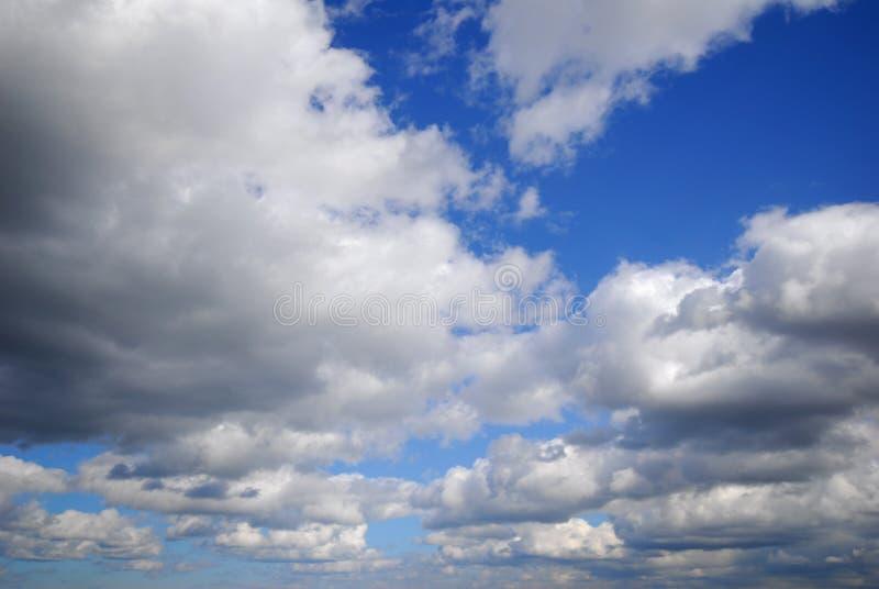多云天空 免版税库存图片
