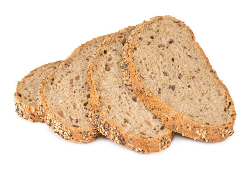 多五谷面包 免版税图库摄影