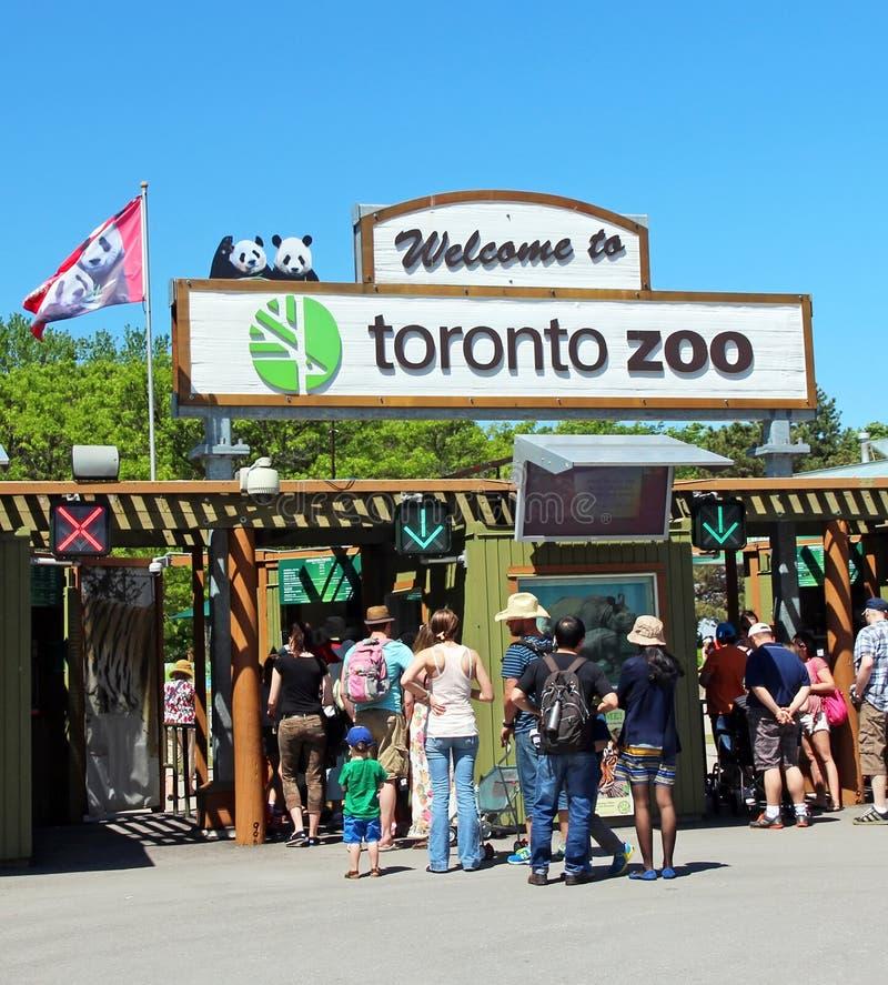 多伦多动物园图库摄影片. 图片包括有入口, 旅游业, 吸引力, 主要, 符号 ...
