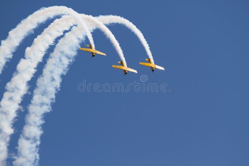 多伦多在CNE的飞行表演2012年 免版税库存图片