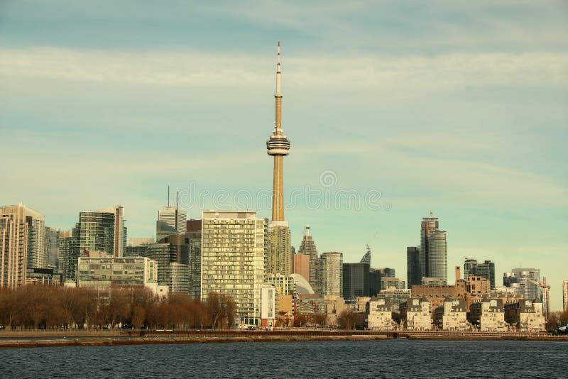 多伦多地平线,安大略,加拿大 库存照片