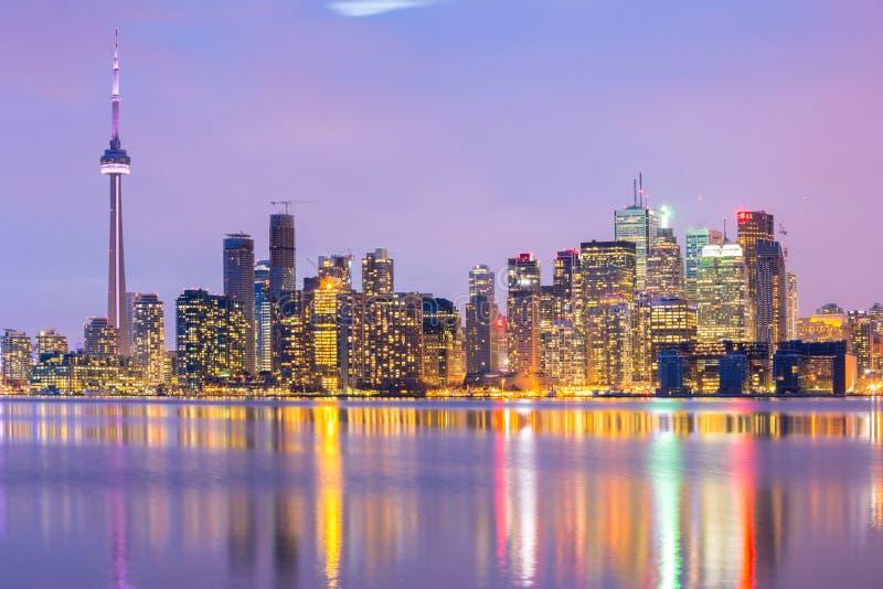 多伦多地平线 免版税库存图片