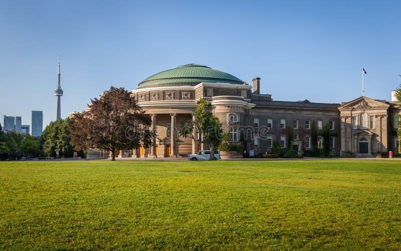 多伦多大学,集会霍尔 免版税库存照片