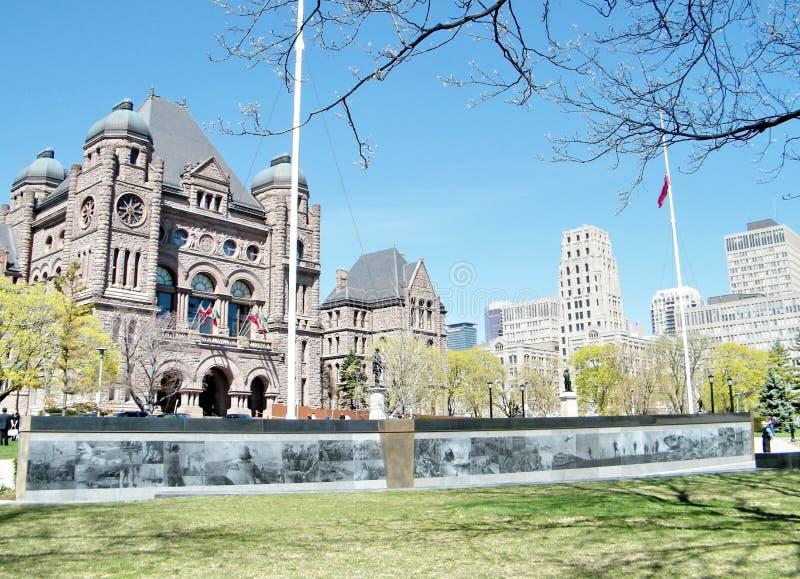 多伦多安大略退伍军人纪念品2010年 免版税库存照片