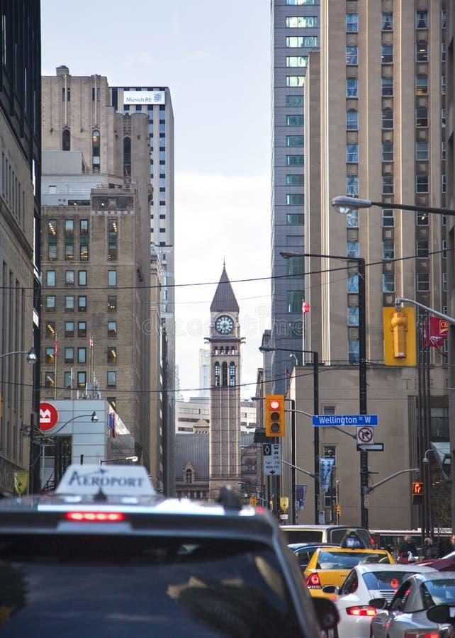 多伦多市中心 加拿大 免版税库存图片