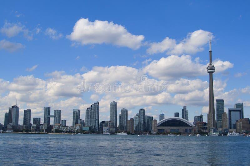 多伦多市地平线 图库摄影