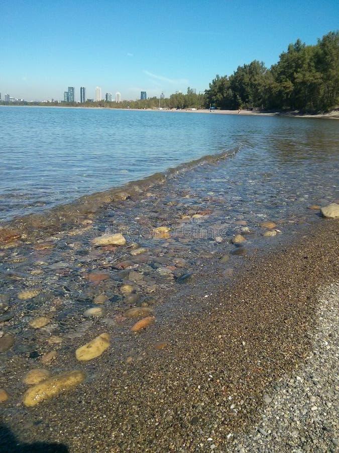 多伦多海岛海滩 图库摄影