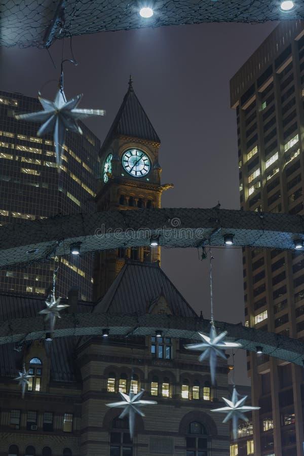 多伦多的尖沙咀钟楼 免版税库存照片