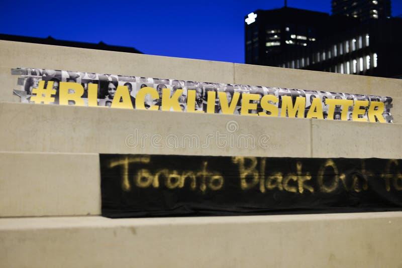 多伦多的黑人公共 库存照片