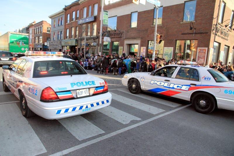 多伦多警车 免版税库存照片