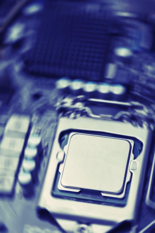 多元状况的动力系统处理器和主板 库存图片