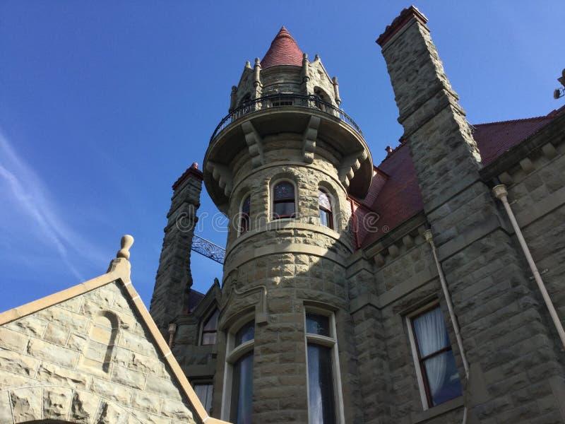 维多利亚城堡在维多利亚,加拿大 库存图片