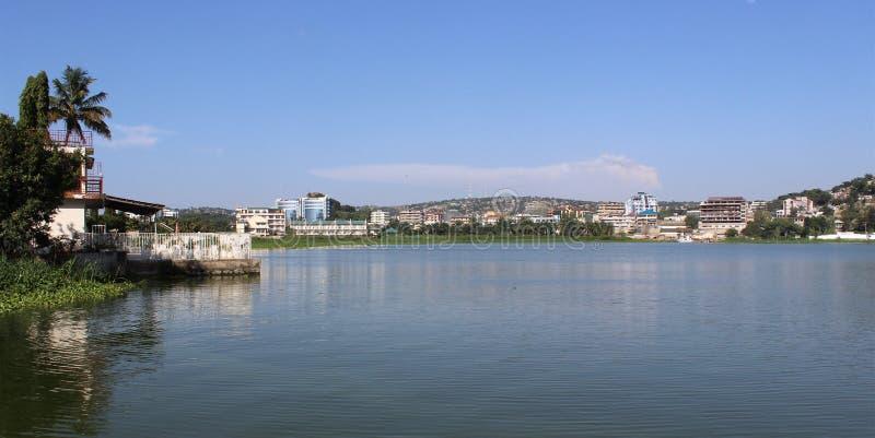 维多利亚湖 免版税图库摄影