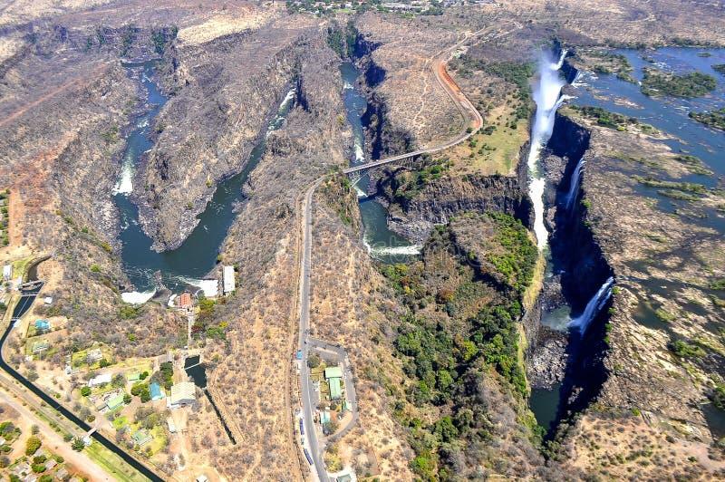 维多利亚瀑布 免版税库存照片